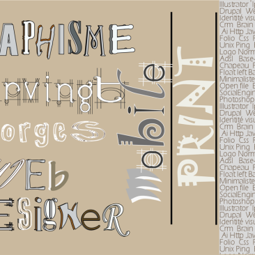 Infographie des mots