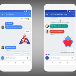 Projet de Google pour remplacer le SMS